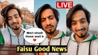 Faisu Good News, Mr faisu live on Instagram 7 November, Tik Tok star live