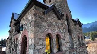 Lily Lake и Церковь на скале. Где погулять когда бушует коронавирус? Колорадо США. Национальный парк