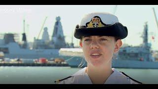 SLt Emma Sumner RNR shares here experience as a reservists.