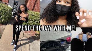 A day in my life! Instagram pictures, Nails, car wash, family time...