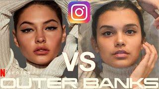 I Copied Madelyn Cline's Instagram for a Week - Sarah Cameron from Outer Banks Netflix