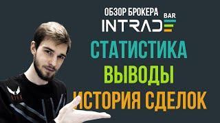 САМЫЙ ЧЕСТНЫЙ БРОКЕР? Обзор Платформы INTRADE BAR! Бинарные Опционы!