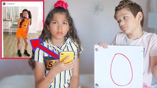 My Little Brother RATES My Instagram OUTFITS!! *Bad Idea*   Txunamy
