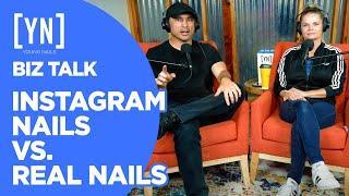Instagram Nails vs. Real Nails