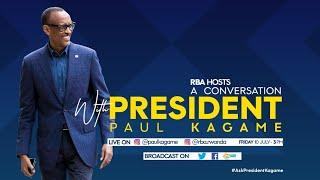 PART 1: President Kagame Interactive Conversation on Instagram Live  | July 10, 2020