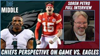 Soren Petro Shares KC Chiefs Perspective Leading Into Eagles Game This Weekend   JAKIB