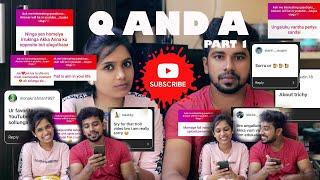 INSTAGRAM Q&A PART- 1 |My 10th mark and my love story spotted #challenge  #vlog #couple #love