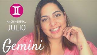 Gemini ♊ || Julio 2020- No deja de pensar en ti, se siente atrapado en su mente.