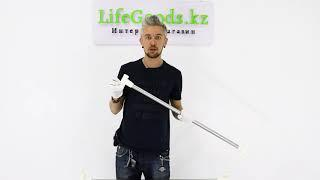 Вешалка напольная складная YLT-0378: инструкция по сборке, обзор от Интернет магазина LifeGoods.kz