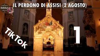 1° agosto 2021 - Il perdono di Assisi 1 (2 agosto) - Tik Tok del Caffè con la Bibbia...