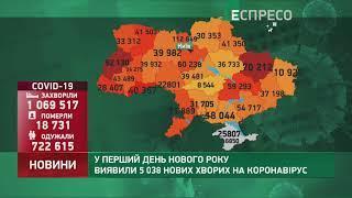 Коронавірус в Україні: статистика за 2 січня