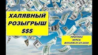 Прогноз курса криптовалют BTC Bitcoin Биткоин 01.07.2020