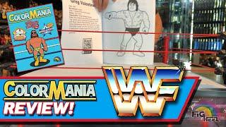 Oooooh YEAH! Unreleased Wrestling Action Figure Coloring Book Review!!