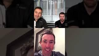 Interview with Chris Voshall // Mizuno // Recorded on Instagram Live