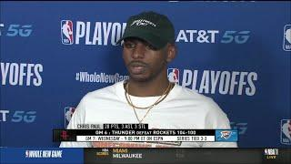 Chris Paul shares thoughts after Big Game 6 Performance vs Rockets