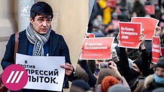«Понял, чем живут люди»: правозащитник о 10 сутках ареста за ретвит про акцию в поддержку Навального